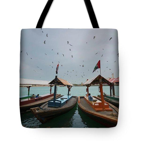 Merchants Of Dubai Tote Bag