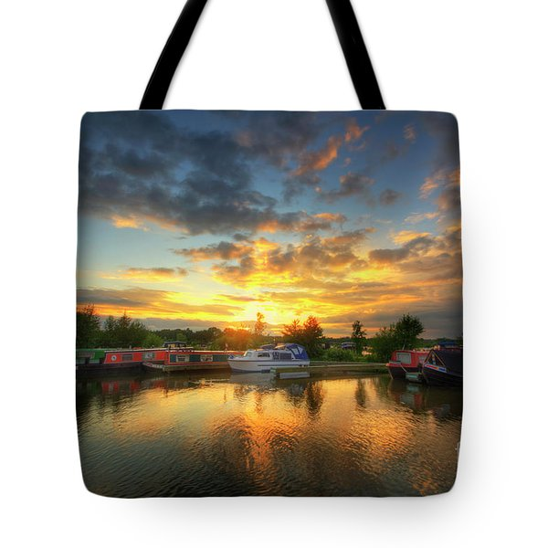 Tote Bag featuring the photograph Mercia Marina 11.0 by Yhun Suarez