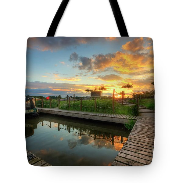 Tote Bag featuring the photograph Mercia Marina 13.0 by Yhun Suarez
