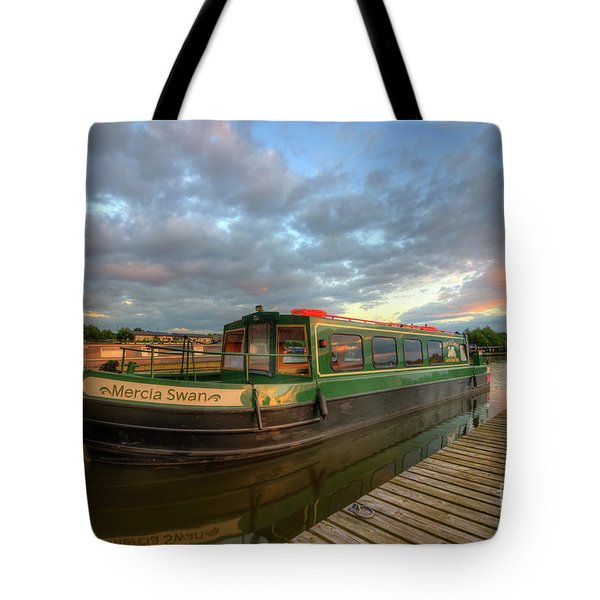 Tote Bag featuring the photograph Mercia Marina 14.0 by Yhun Suarez