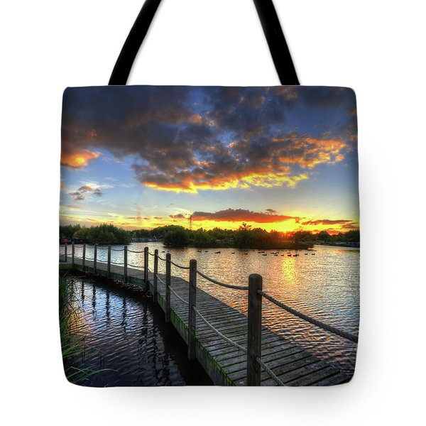 Tote Bag featuring the photograph Mercia Marina 18.0 by Yhun Suarez