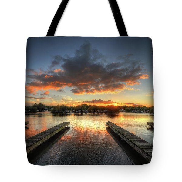 Tote Bag featuring the photograph Mercia Marina 19.0 by Yhun Suarez