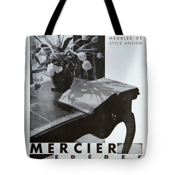 Mercier #8699 Tote Bag