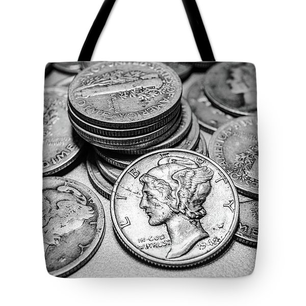 Mercury Dimes Tote Bag