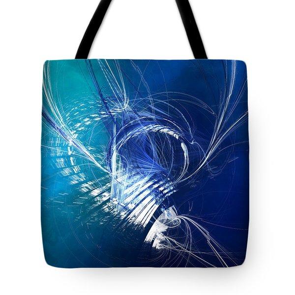 Mercury In Cancer - Cardinal Water Tote Bag
