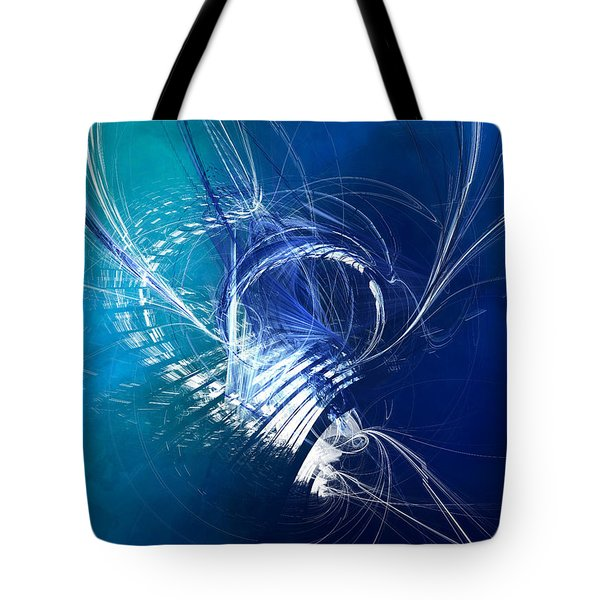 Mercury In Cancer - Cardinal Water Tote Bag by Menega Sabidussi
