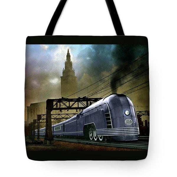 Mercury Train Tote Bag