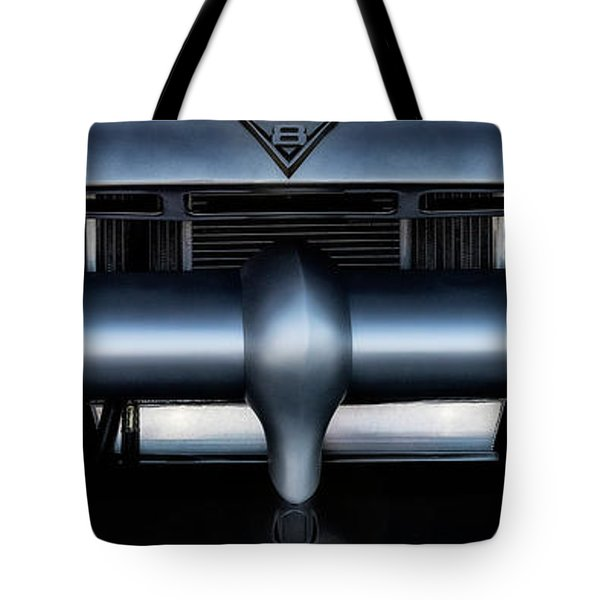 Tote Bag featuring the photograph Mercury V8 Pickup by Brad Allen Fine Art