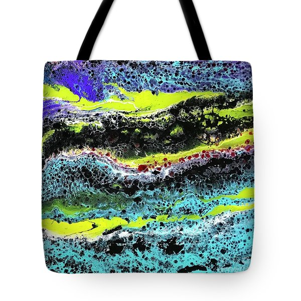 Mercury Wars 9 Tote Bag