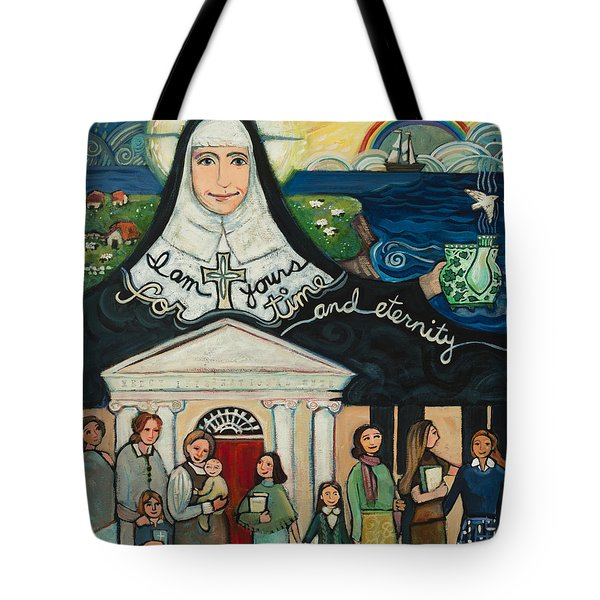 Mercy Foundress Catherine Mcauley Tote Bag