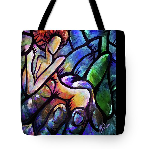Mercy's Hand Tote Bag by AC Williams