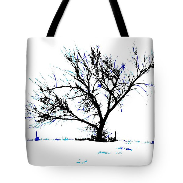 Meredith Blue 2 Tote Bag