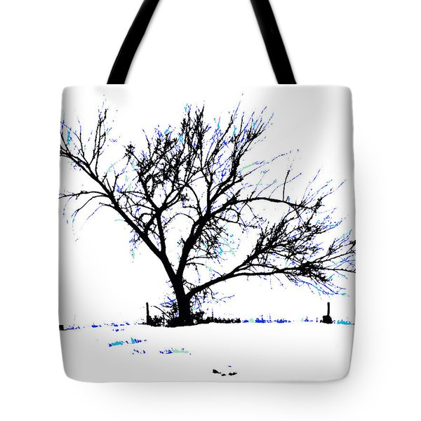 Meredith Blue Tote Bag