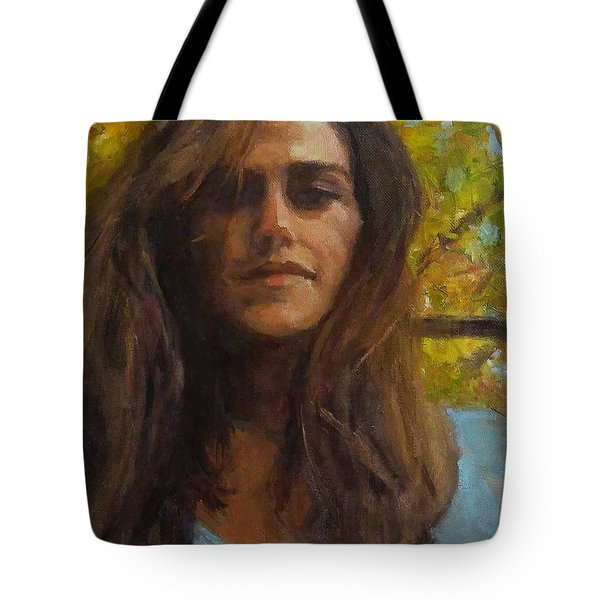 Meredith In Autumn Tote Bag by Brian Kardell