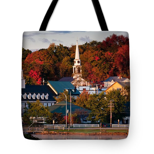Meredith Sunrise Tote Bag