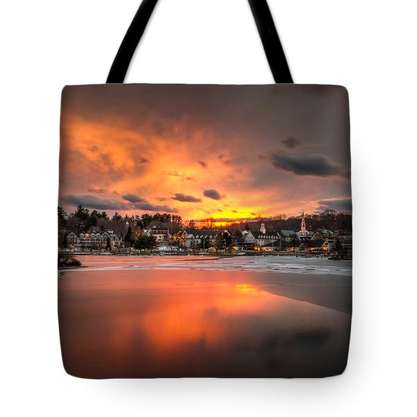 Meredith Sunset Tote Bag