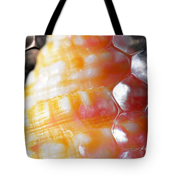 Tote Bag featuring the photograph Merge 2 by Skip Hunt