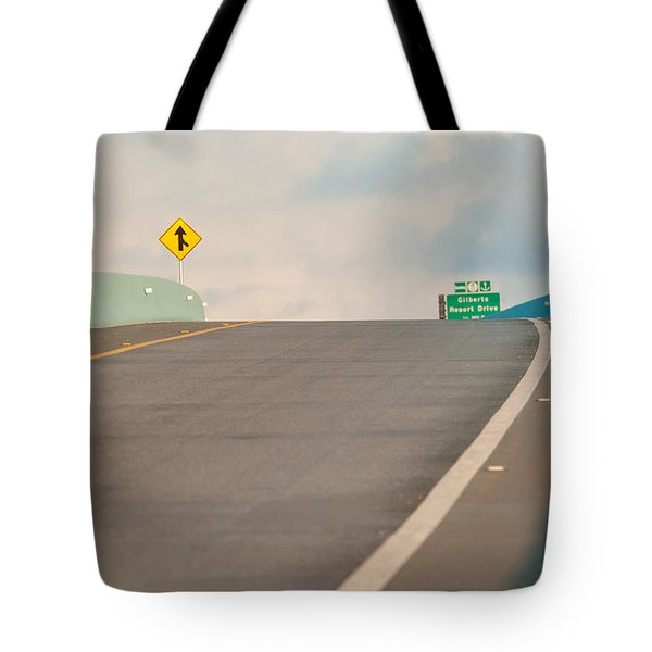 Merge To The Clouds Tote Bag