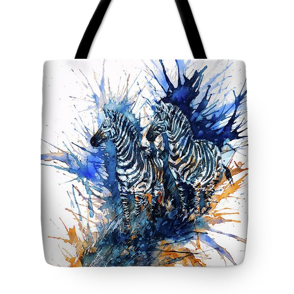 Merging With Shadows Tote Bag