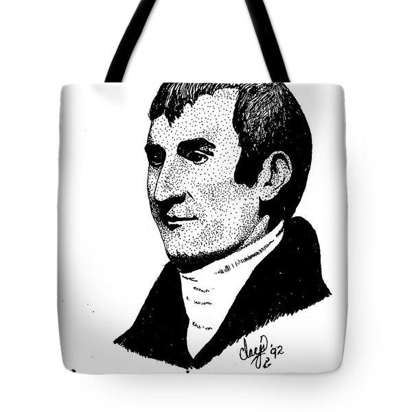 Meriwether Lewis Tote Bag