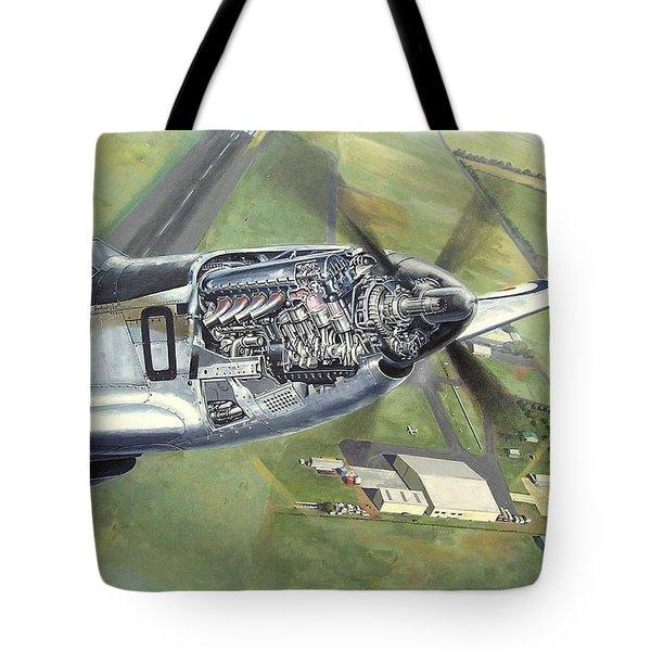 Merlin Magic Over Scone Tote Bag