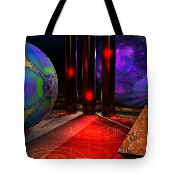 Merlin's Playground Tote Bag by Lyle Hatch