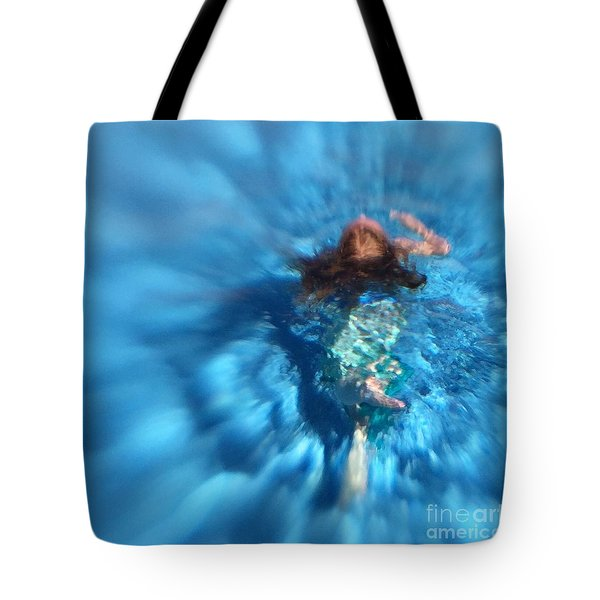 Mermaid Caroline Tote Bag