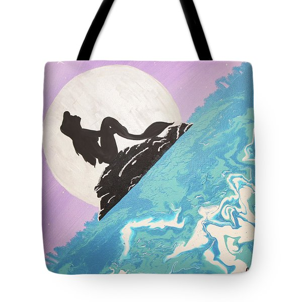 Mermaid Tote Bag by Cyrionna The Cyerial Artist
