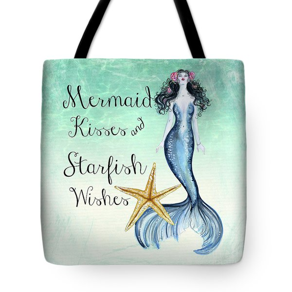 Mermaid Kisses Tote Bag