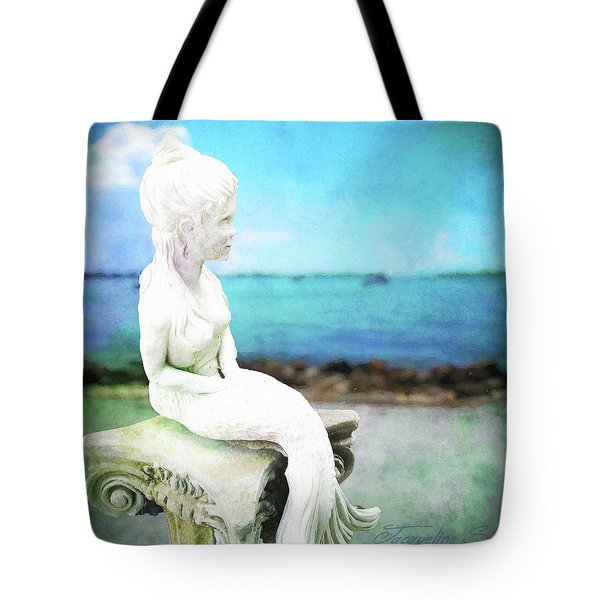 Mermaid Lisa Tote Bag
