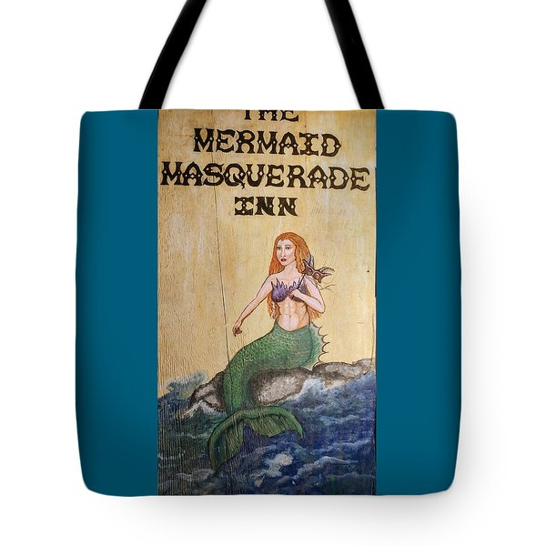 Mermaid Masquerade Inn Tote Bag