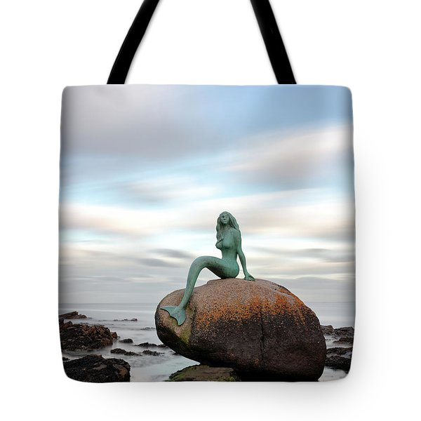 Mermaid Of The North Tote Bag by Grant Glendinning