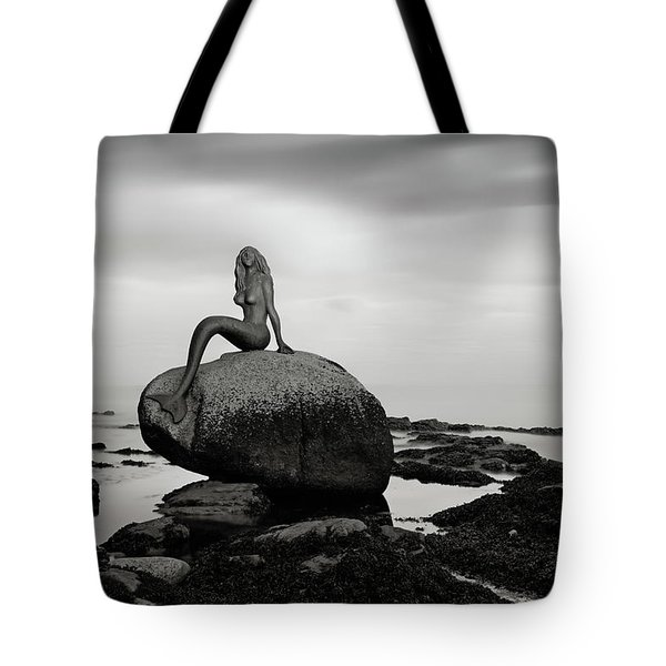 Mermaid Of The North Mono Tote Bag by Grant Glendinning