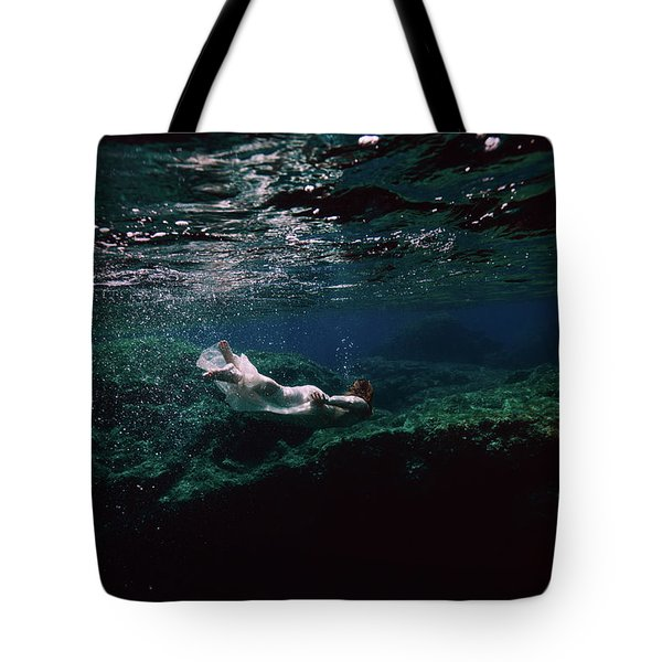 Mermaid Route Tote Bag