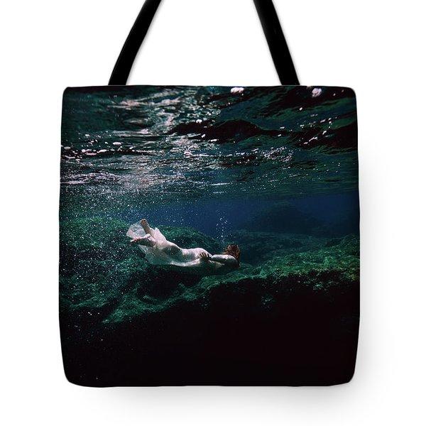 Mermaid Route Tote Bag