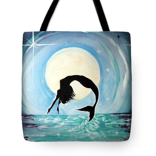 Mermaid Tote Bag by Tom Riggs