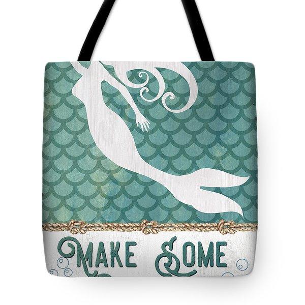 Mermaid Waves 1 Tote Bag