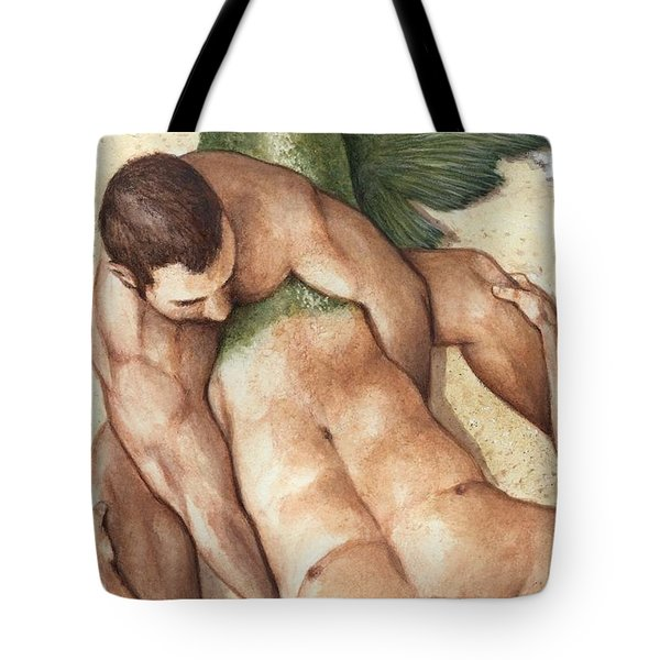 Merman Rescue Tote Bag by Bruce Lennon