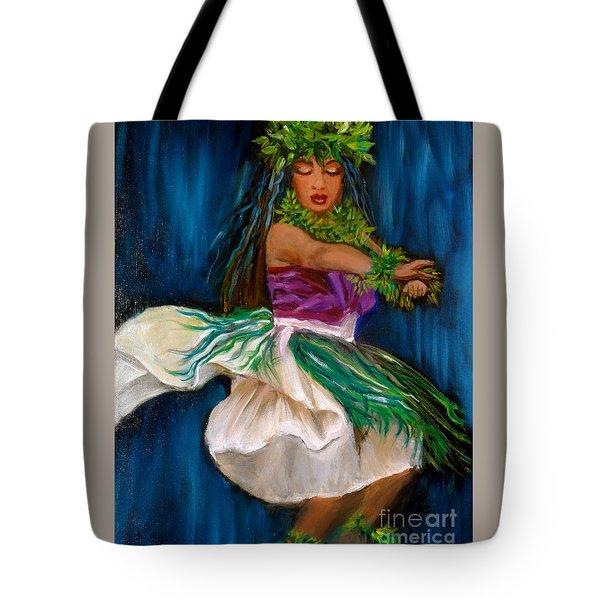 Merrie Monarch Hula Tote Bag