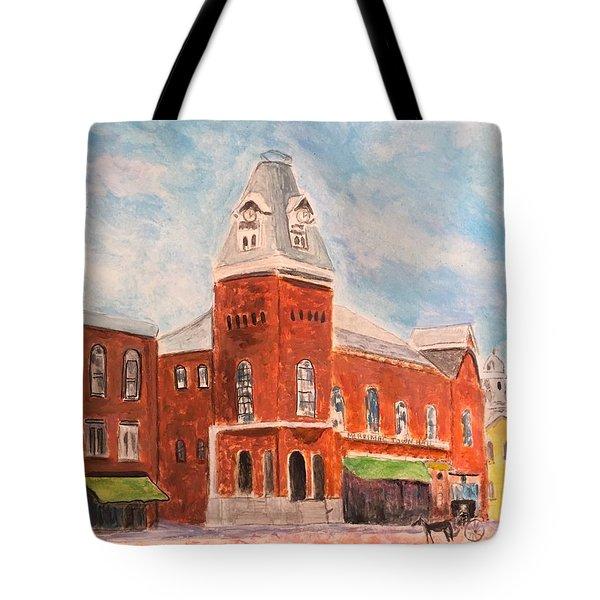 Merrimac Massachusetts Tote Bag