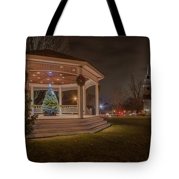 Merry Christmas From Milton Massachuetts Tote Bag