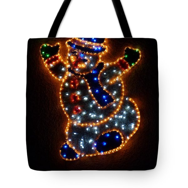 Merry Christmas Tote Bag by Jean Bernard Roussilhe