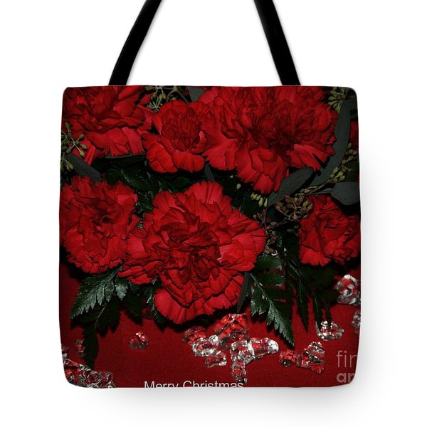 Merry Christmas Tote Bag by Kathleen Struckle