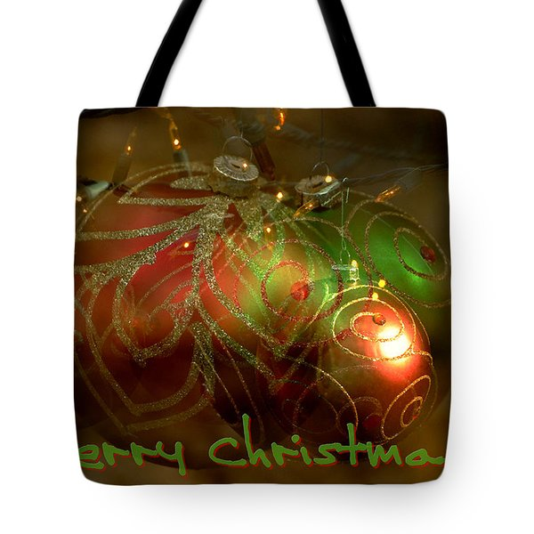 Merry Christmas Tote Bag by Lorenzo Cassina