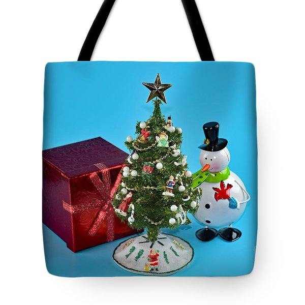 Merry Christmas To You Tote Bag