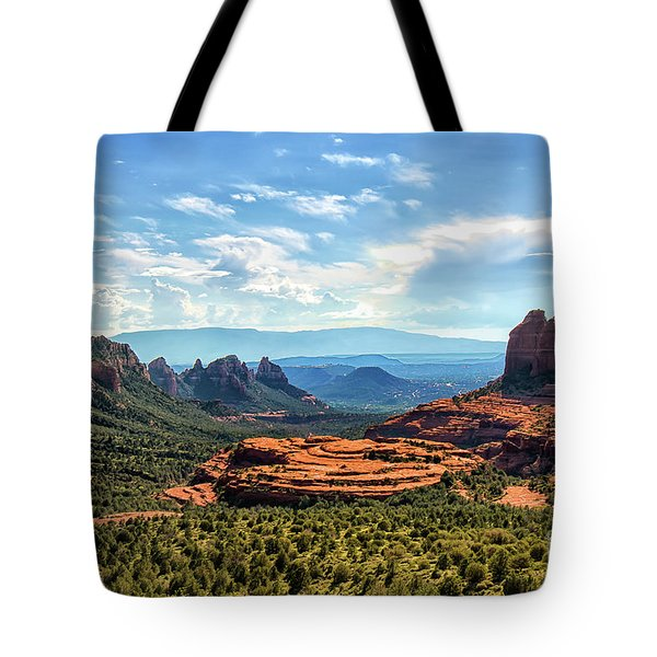 Merry Go Round Arch, Sedona, Arizona Tote Bag