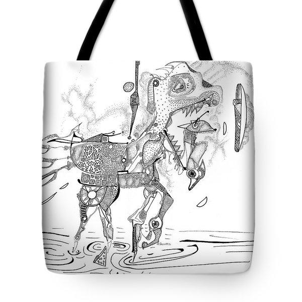 Merry-go-round Horse Tote Bag