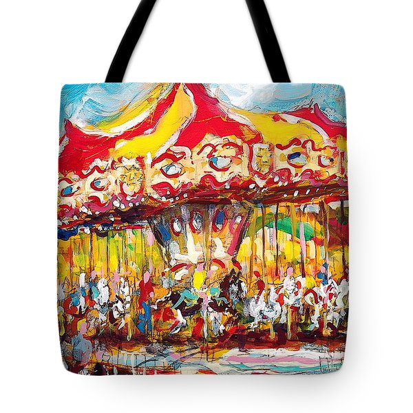 Merry-go-round Tote Bag