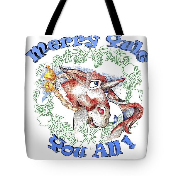 Real Fake News Merry Yule You All Tote Bag
