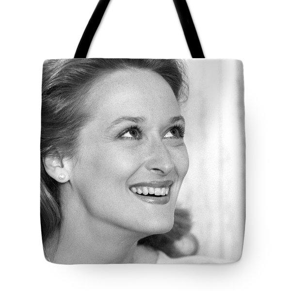 Meryl Streep (b.1949) Tote Bag by Granger